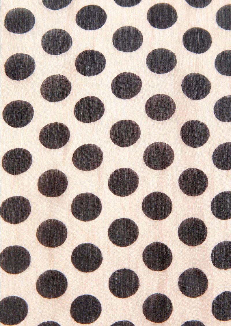 Becksondergaard Tabby Dot's Silk Scarf - Pink main image