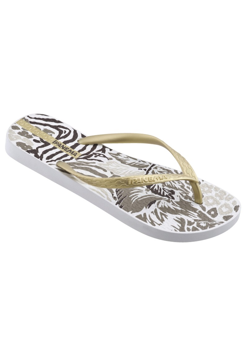 Ipanema Jungle Flip Flops - White main image