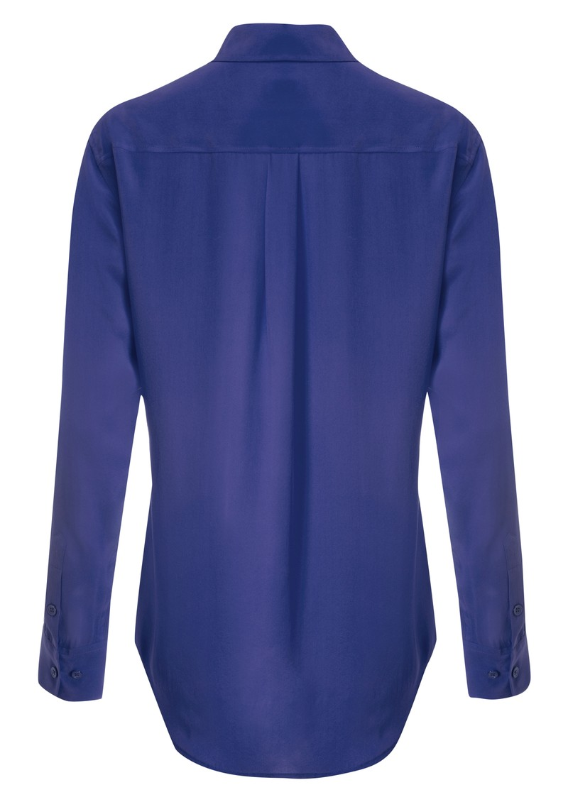Equipment Signature Silk Shirt - Med Blue main image