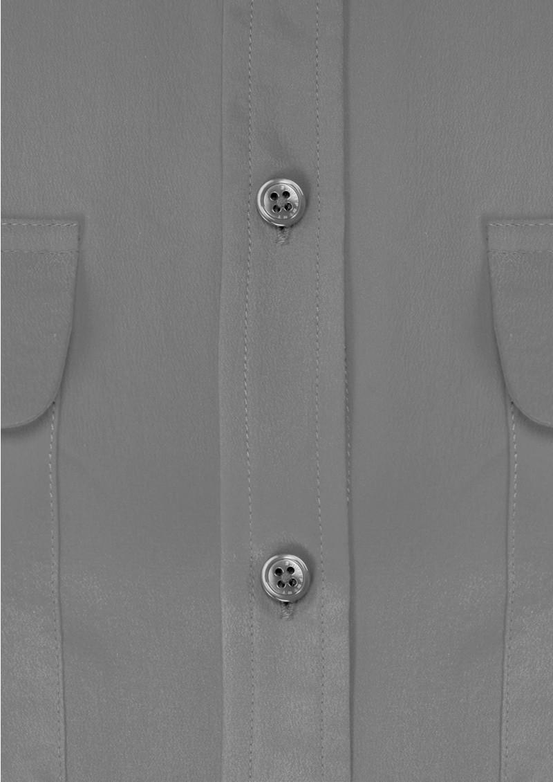 Equipment Signature Silk Shirt - Steel main image