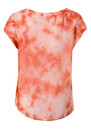 Titusville Tie Dye Silk Top - Flash Mandarin additional image
