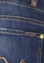 7 For All Mankind Straight Leg Jean - Warm Medium Blue