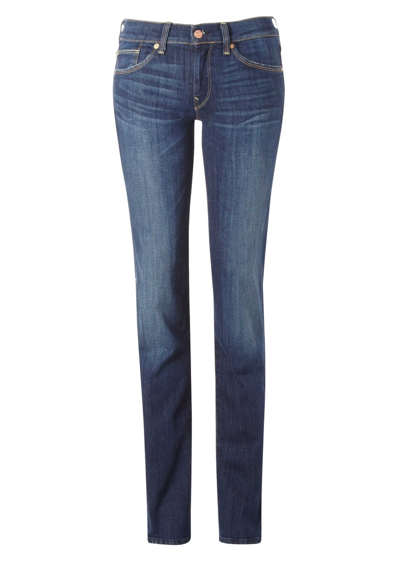 7 For All Mankind Straight Leg Jean - Warm Medium Blue main image
