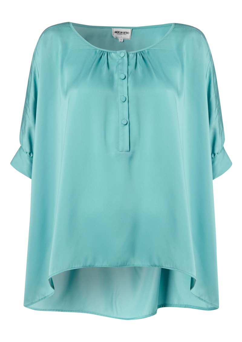 American Retro Trish Shirt - Mint main image