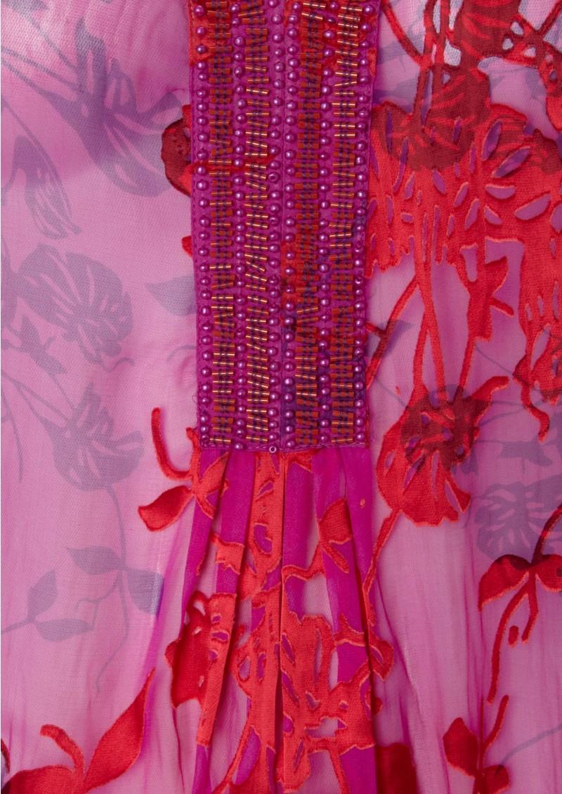 Hale Bob Velvet Top - Purple main image