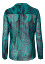 Hale Bob Silk Blouse - Teal
