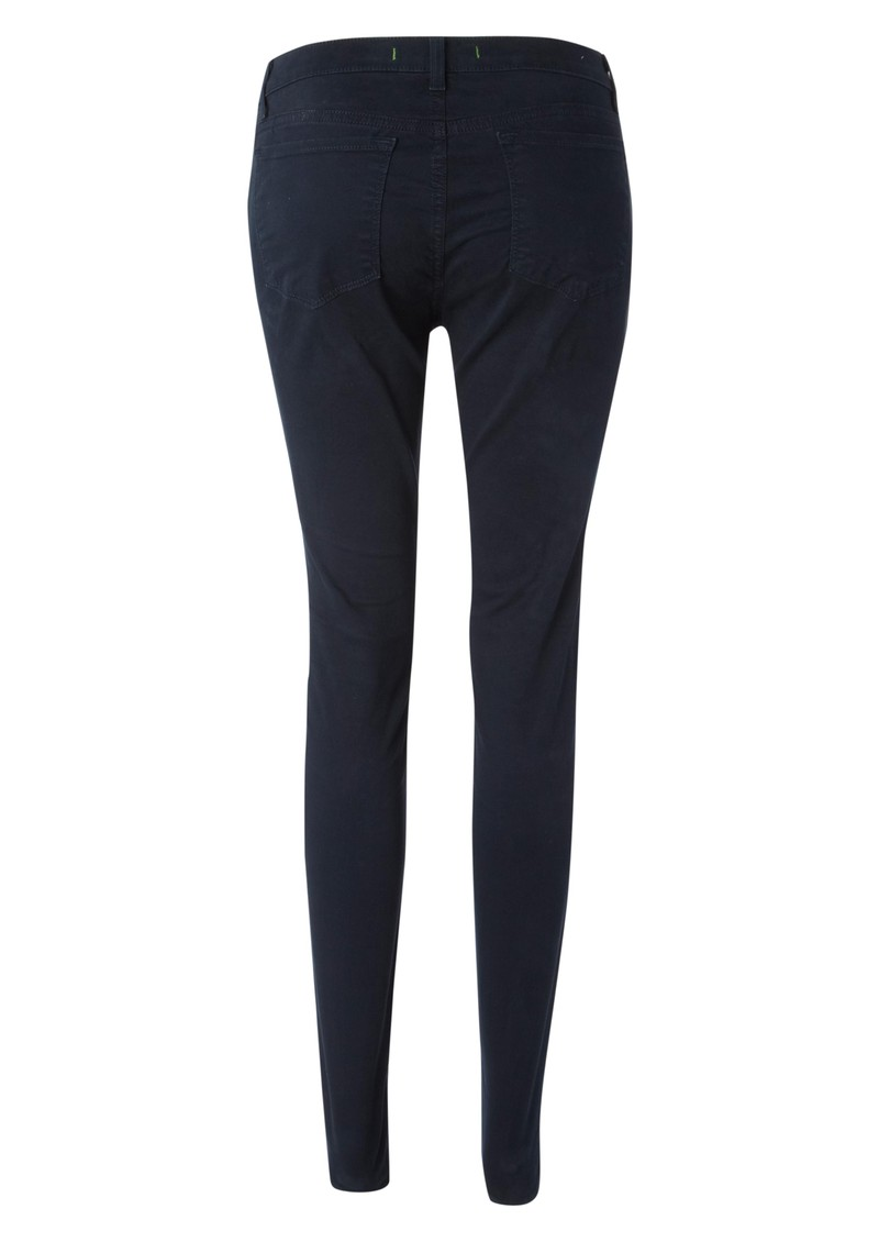 811 Mid Rise Skinny Leg Jeans - Navy main image
