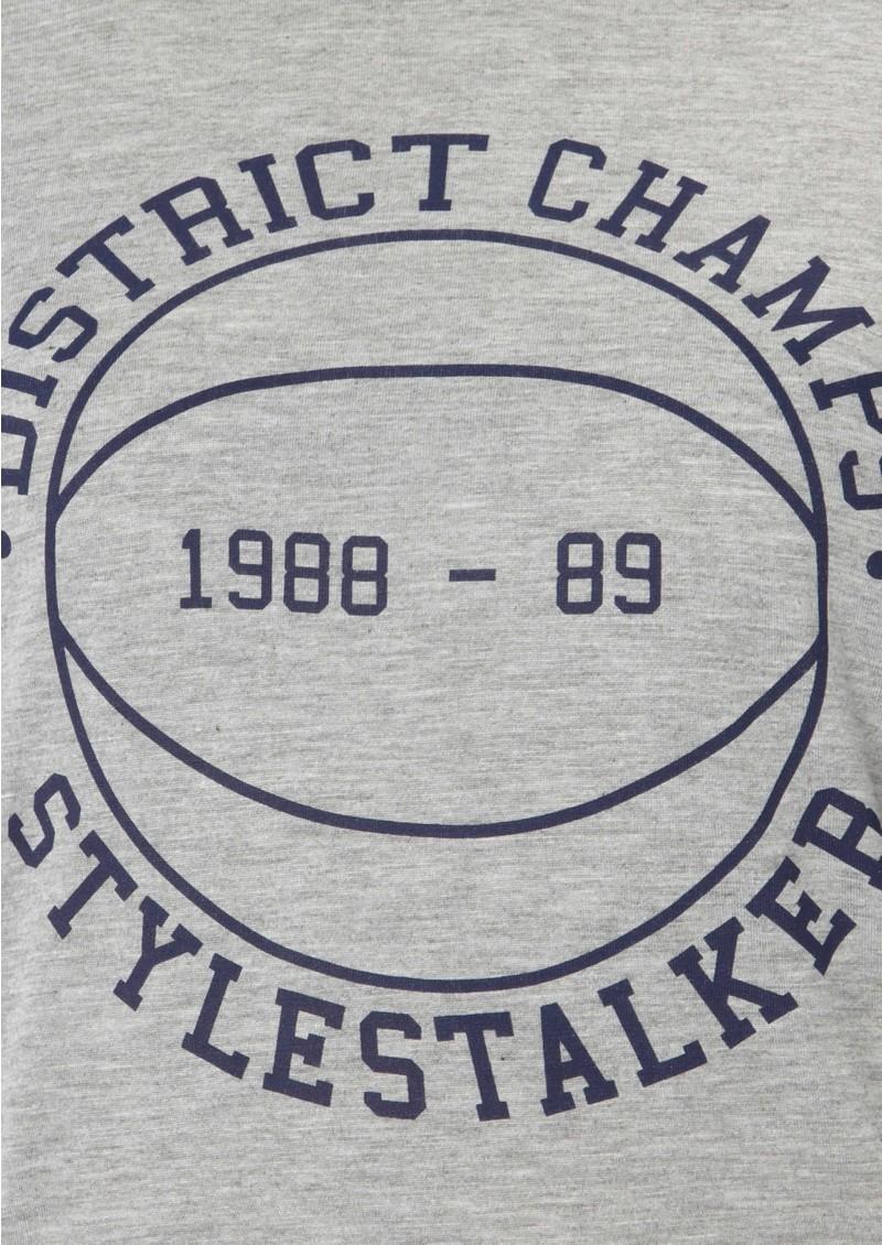 Style Stalker Merci Tee- Grey main image
