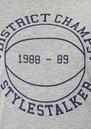 Style Stalker Merci Tee- Grey