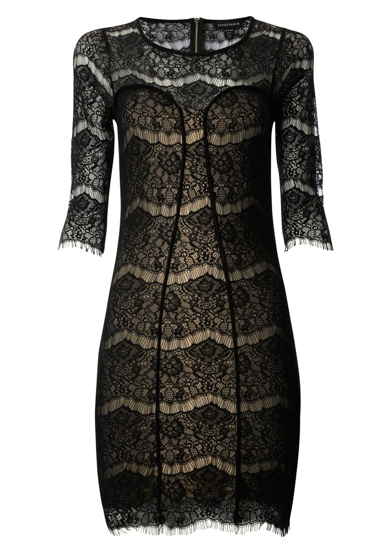 Holster Lace Dress - Black main image
