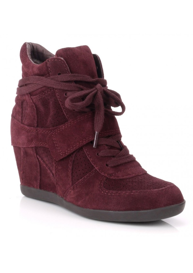 Ash Bowie Wedge Trainer - Prune main image