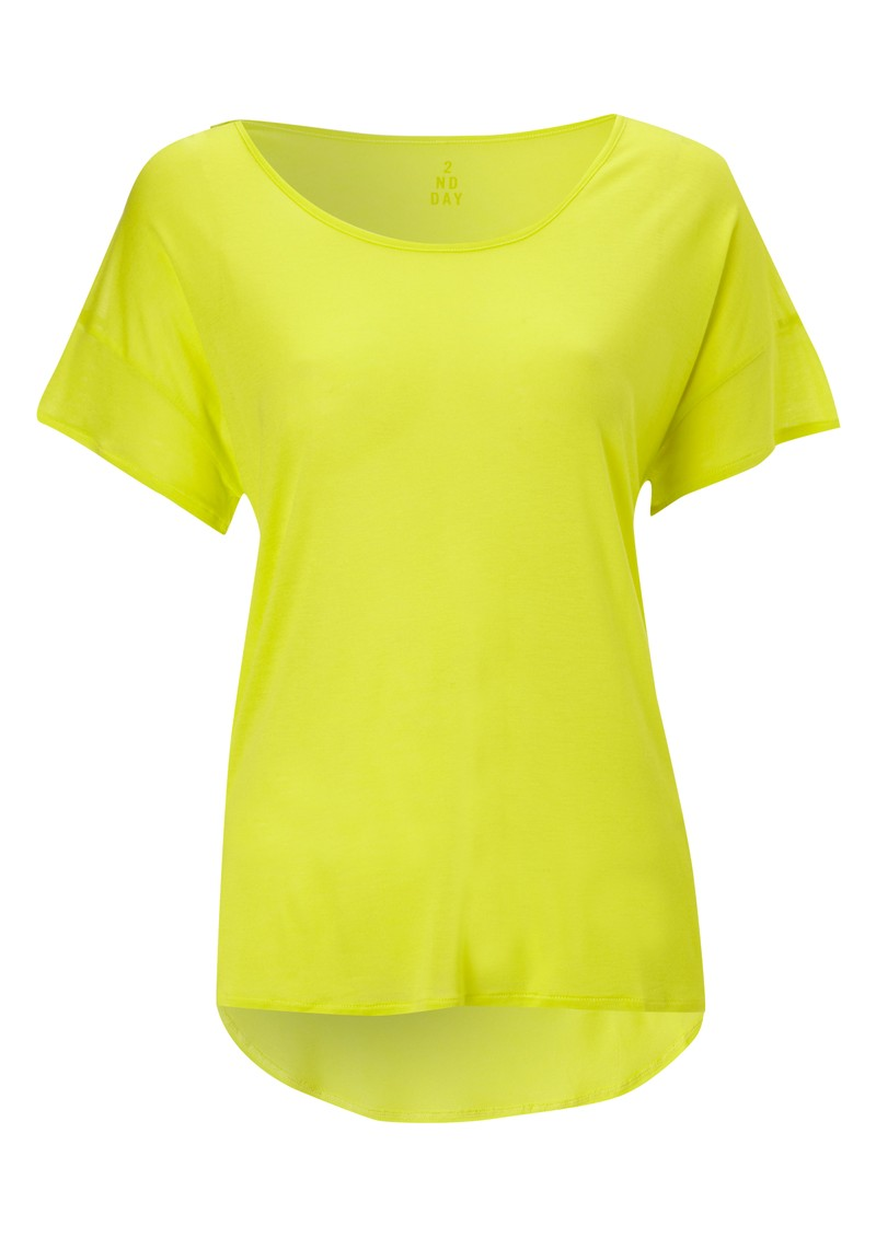 2nd Day Neon Tee - Yellow main image