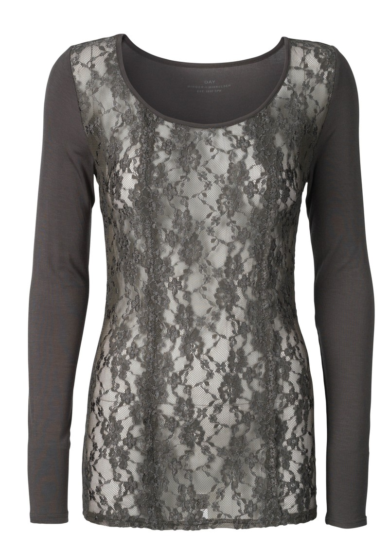Day Birger et Mikkelsen  Passion Top - Clay Green main image