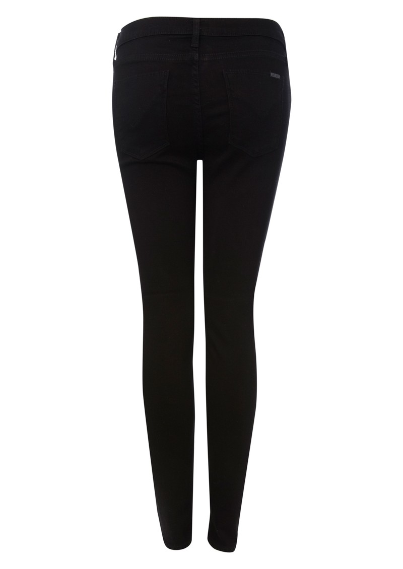 Hudson Jeans Mid Rise Nico Super Skinny Jean - Black main image