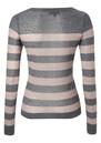 Great Plains Penelope Wool Blend Stripe Knit - Grey