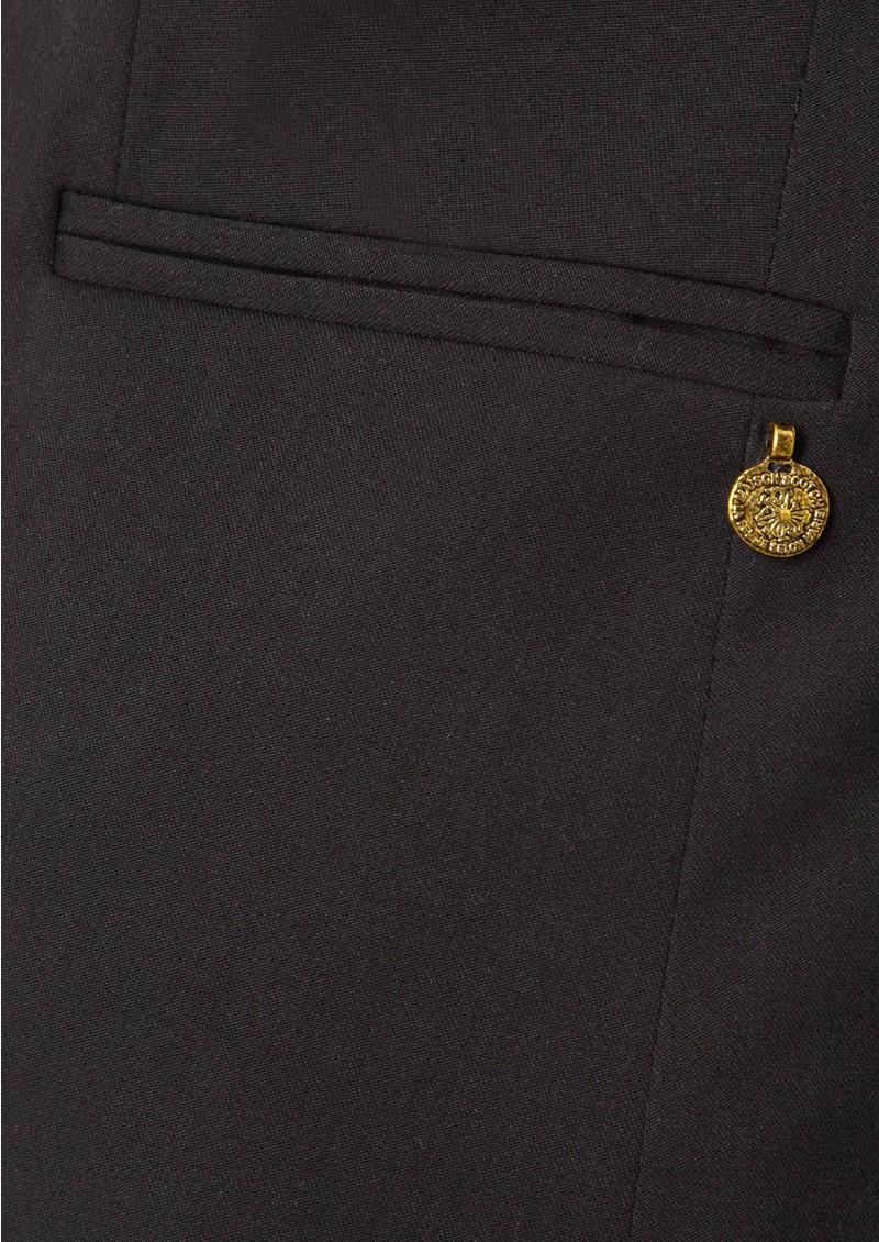 Maison Scotch Blazer with leopard lining - Black main image