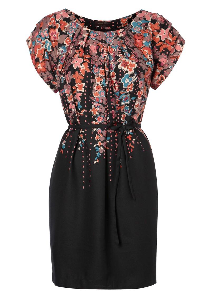 Great Plains Romeo & Juliet Dress - Black main image
