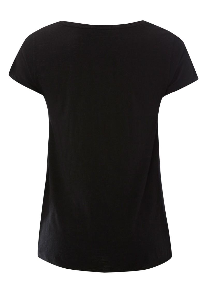 American Vintage Jacksonville Short Sleeve Top - Black main image