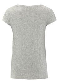 Jacksonville Short Sleeve Top - Heather Grey