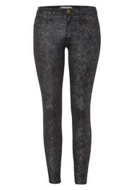 Current/Elliott Stiletto Skinny Jean - Silver Foil