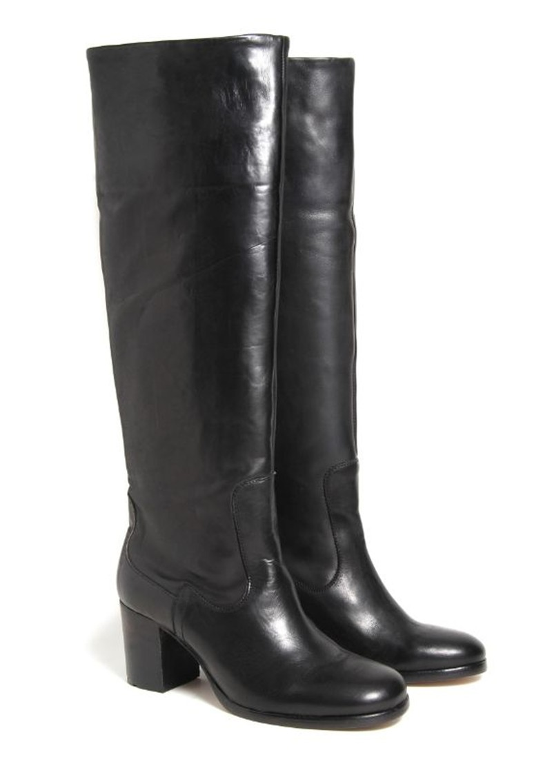Hudson London Folgate Knee High Boot - Black main image