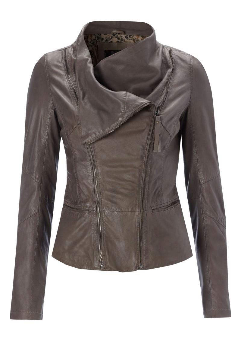 Oakwood Wyona Leather Jacket - Taupe main image