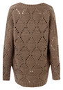 American Vintage Big Sky Country Round Neck Knitted Jumper - Mouse