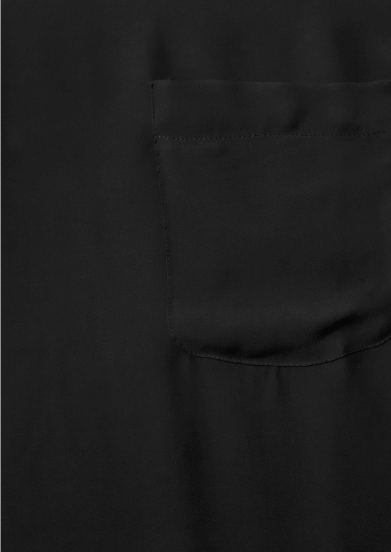 American Vintage Jamestown Silk Pocket Top - Carbon main image