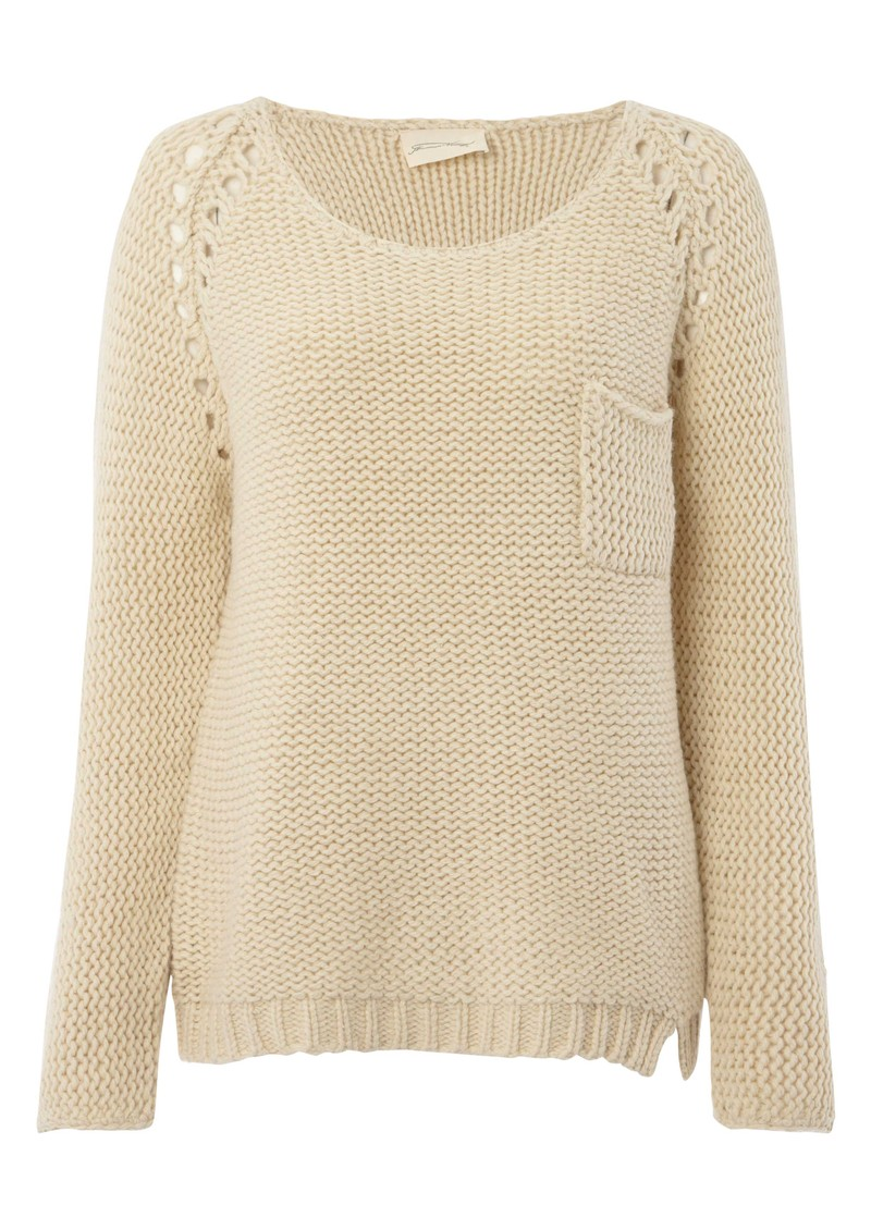 American Vintage Big Sky Country Jumper - Natural  main image