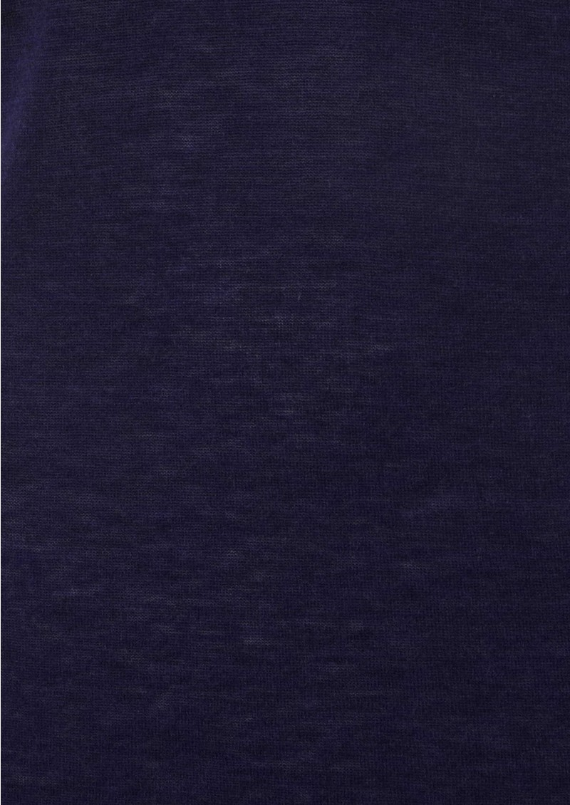 American Vintage Magnolia Cashmere Blend V Neck Pullover - Ink main image