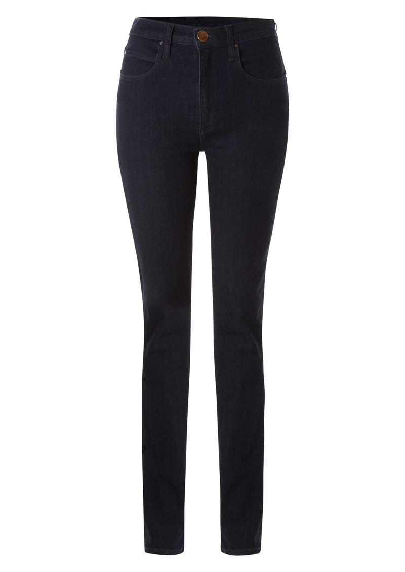 Nobody Cult Straight Leg Jeans - True Blue main image
