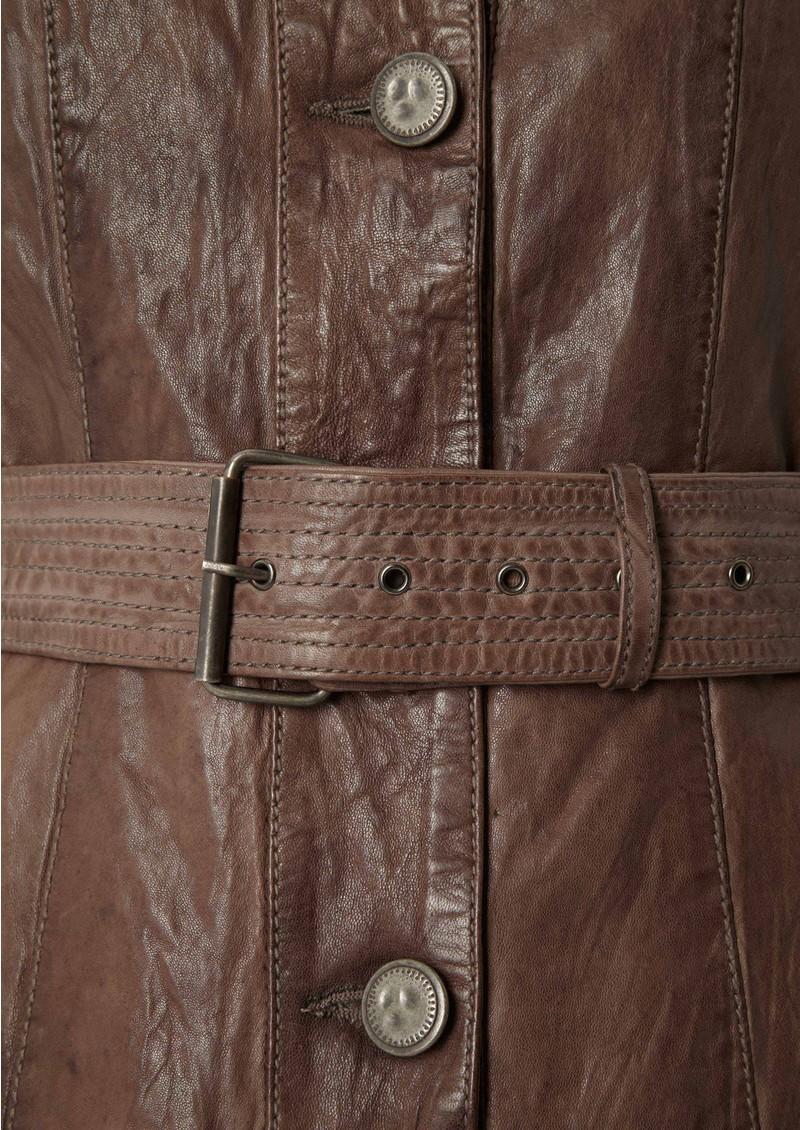Jofama Jackie Leather Jacket - Cement main image