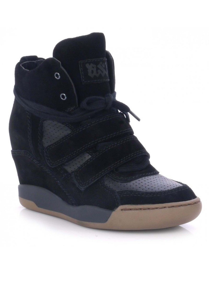 Ash Andy High Top Trainer - Black main image