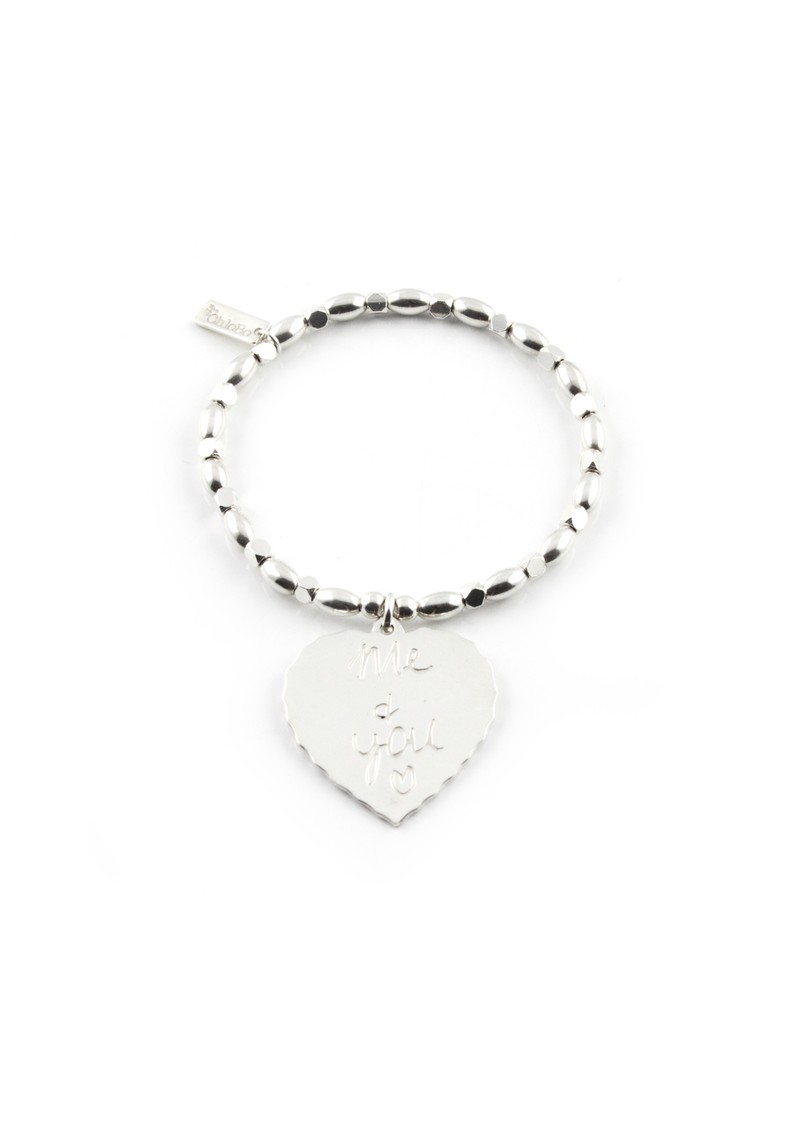 Fancy Rice Me & You Charm Bracelet - Silver main image