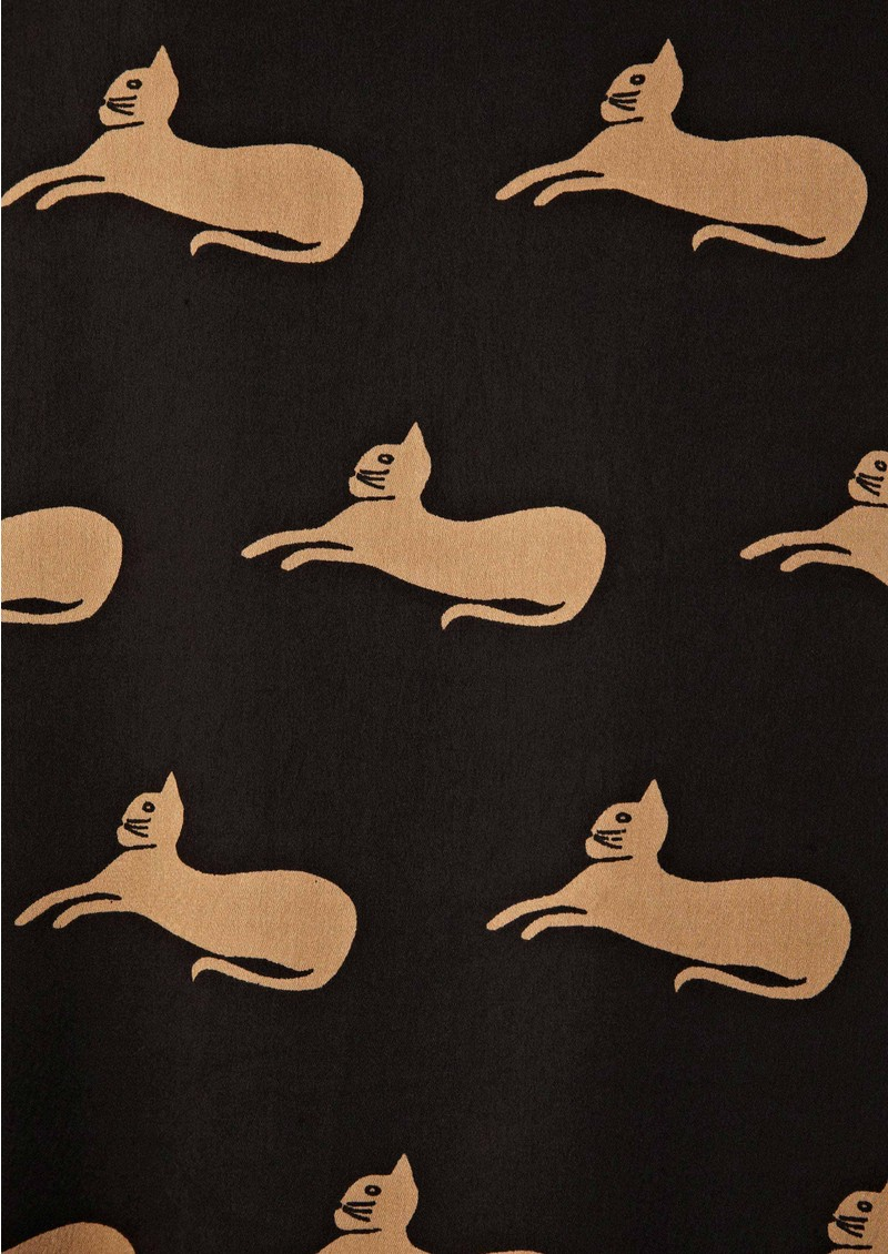 Great Plains Cats Tunic - Black/Mansion main image