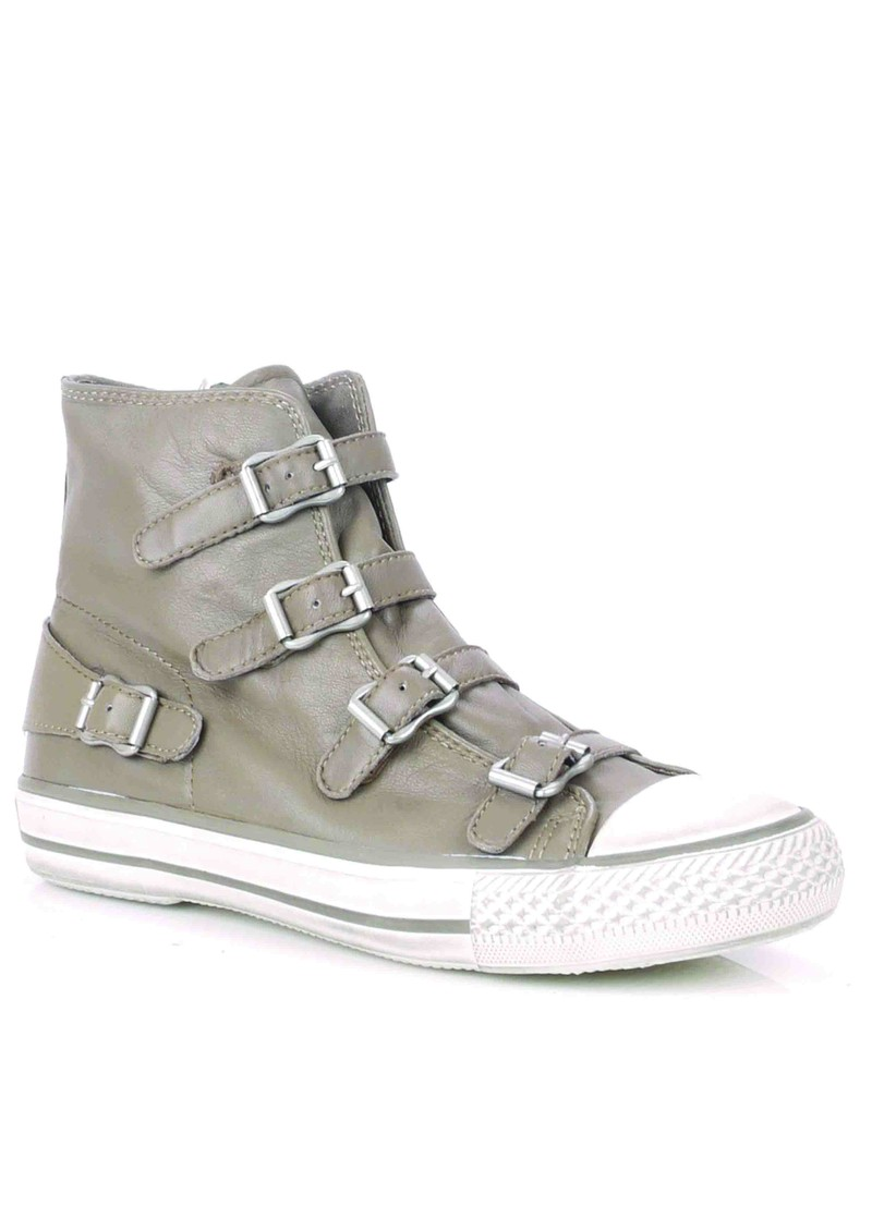 Virgin Leather Buckle Trainers - Perkish main image