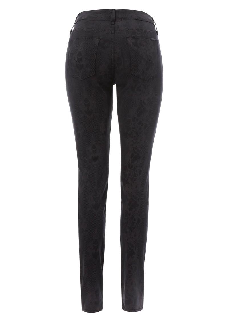 Hudson Jeans Nico Super Skinny Lace Print Jean - Grey main image
