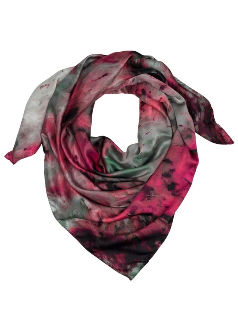 Weston Scarves Agate Silk Scarf - Pink main image