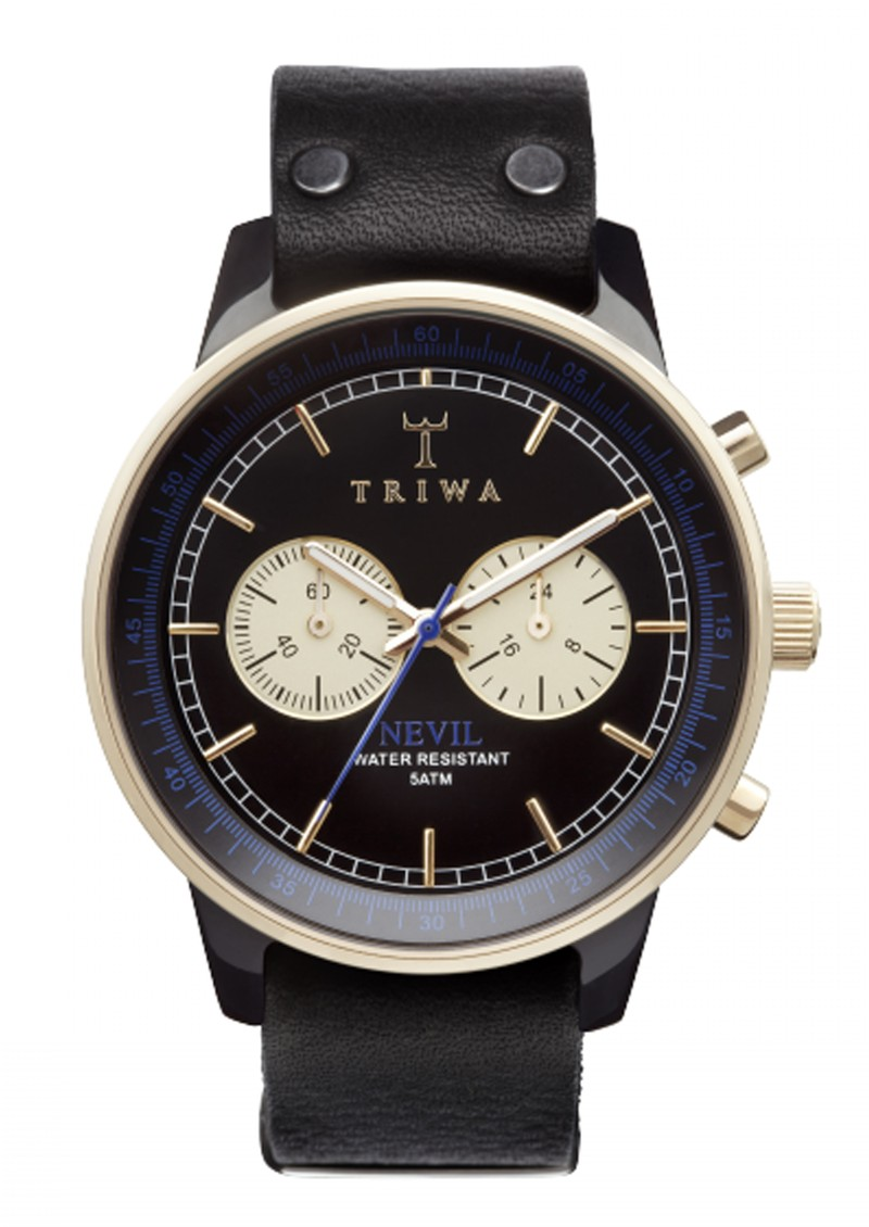 Triwa Blue Raven Nevil - Black main image