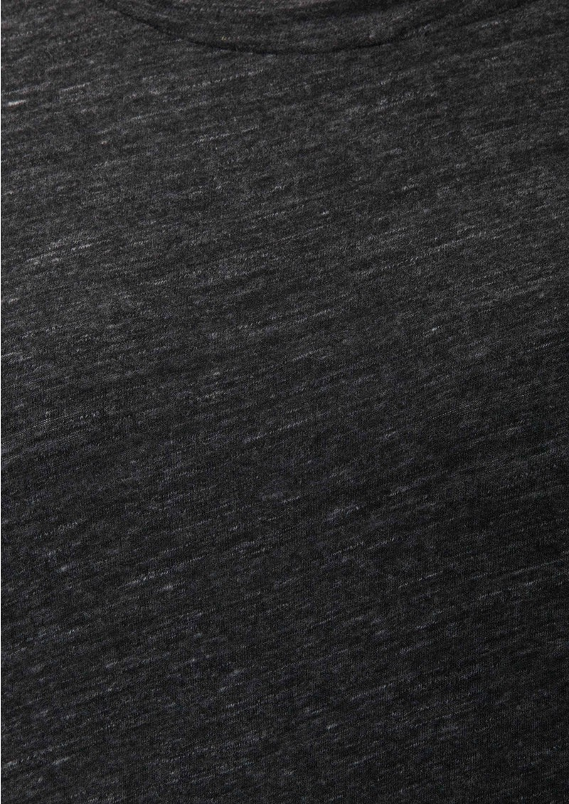 American Vintage Kim Wool Mix Long Sleeve Dress - Charcoal main image
