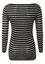Day Birger et Mikkelsen  Striped Layering Top - Black