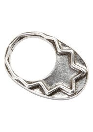 House Of Harlow Zig Zag Stacking Ring - Silver