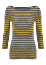 Day Birger et Mikkelsen  Striped Layering Top - Medium Grey Melange