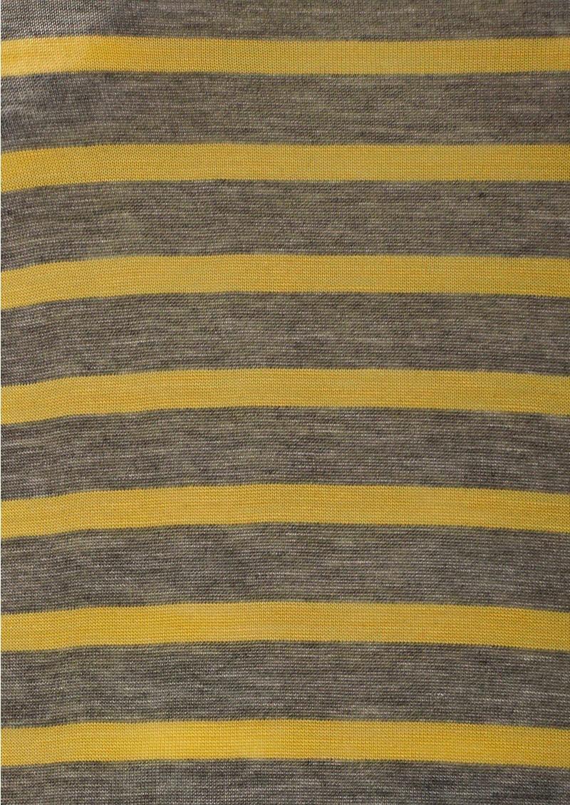 Day Birger et Mikkelsen  Striped Layering Top - Medium Grey Melange main image