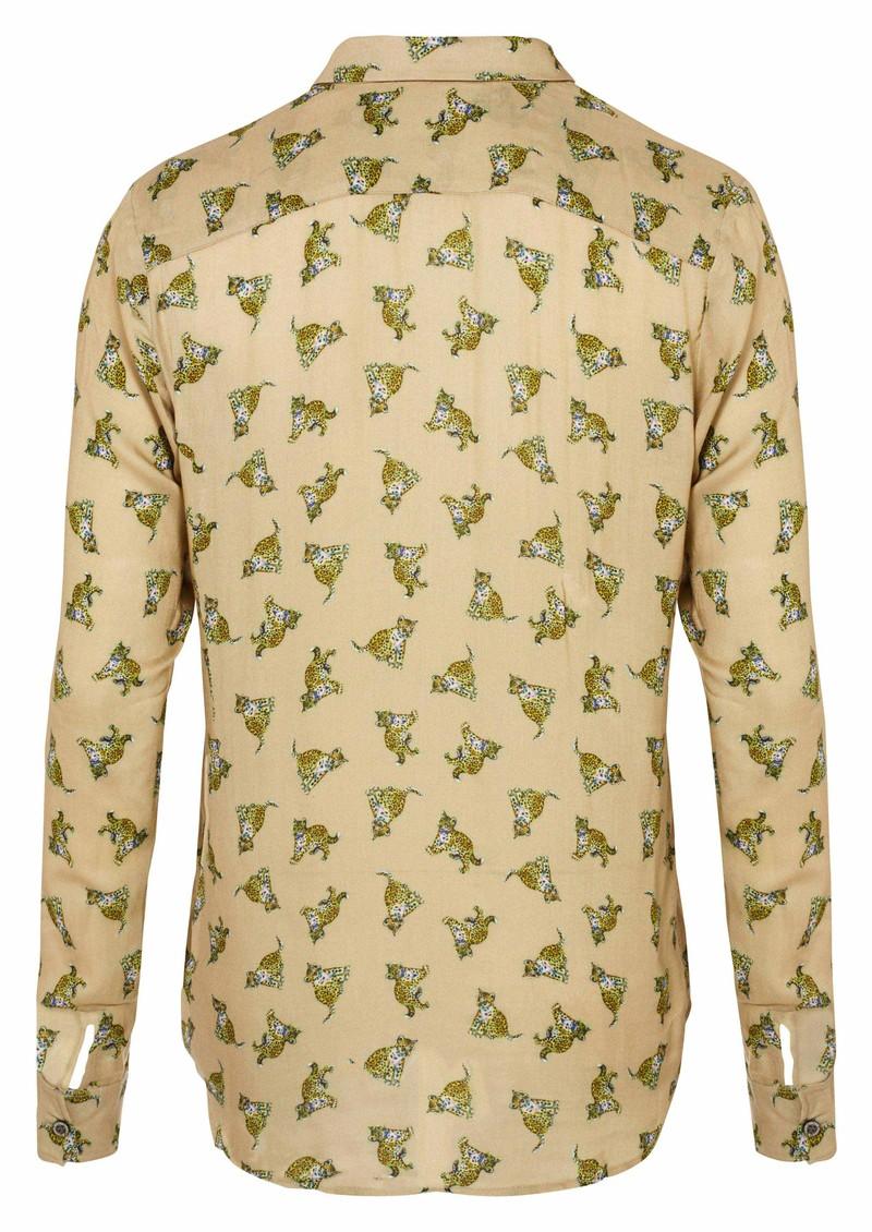 Paul and Joe Sister Balou Leopard Shirt - Beige main image