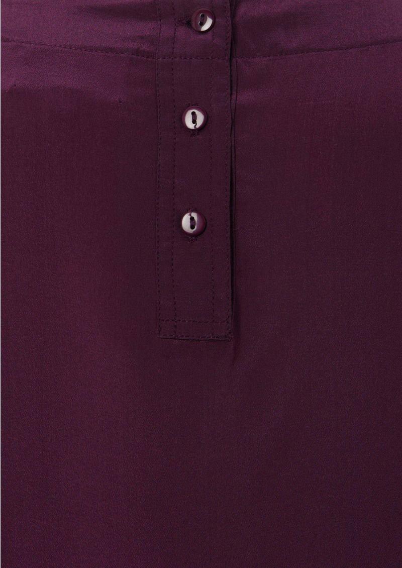 American Retro Mummy Silk Tee - Purple main image