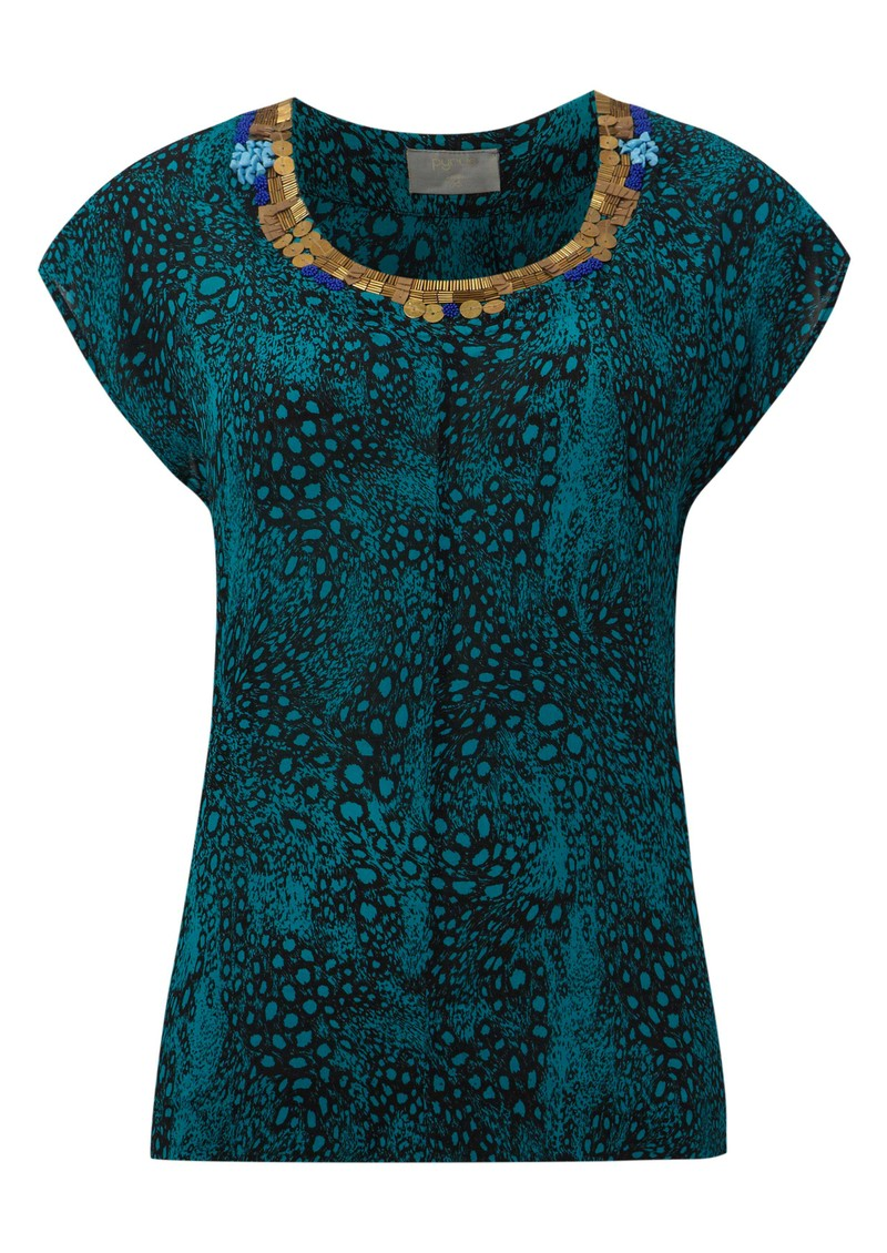 Pyrus Ariane Twist Top - Turquoise main image