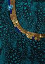 Pyrus Ariane Twist Top - Turquoise