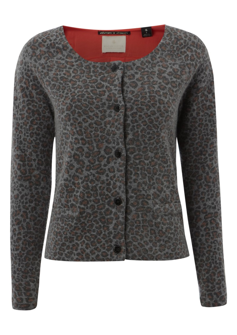 Maison Scotch Knitted Wool Jacket - Combo B main image