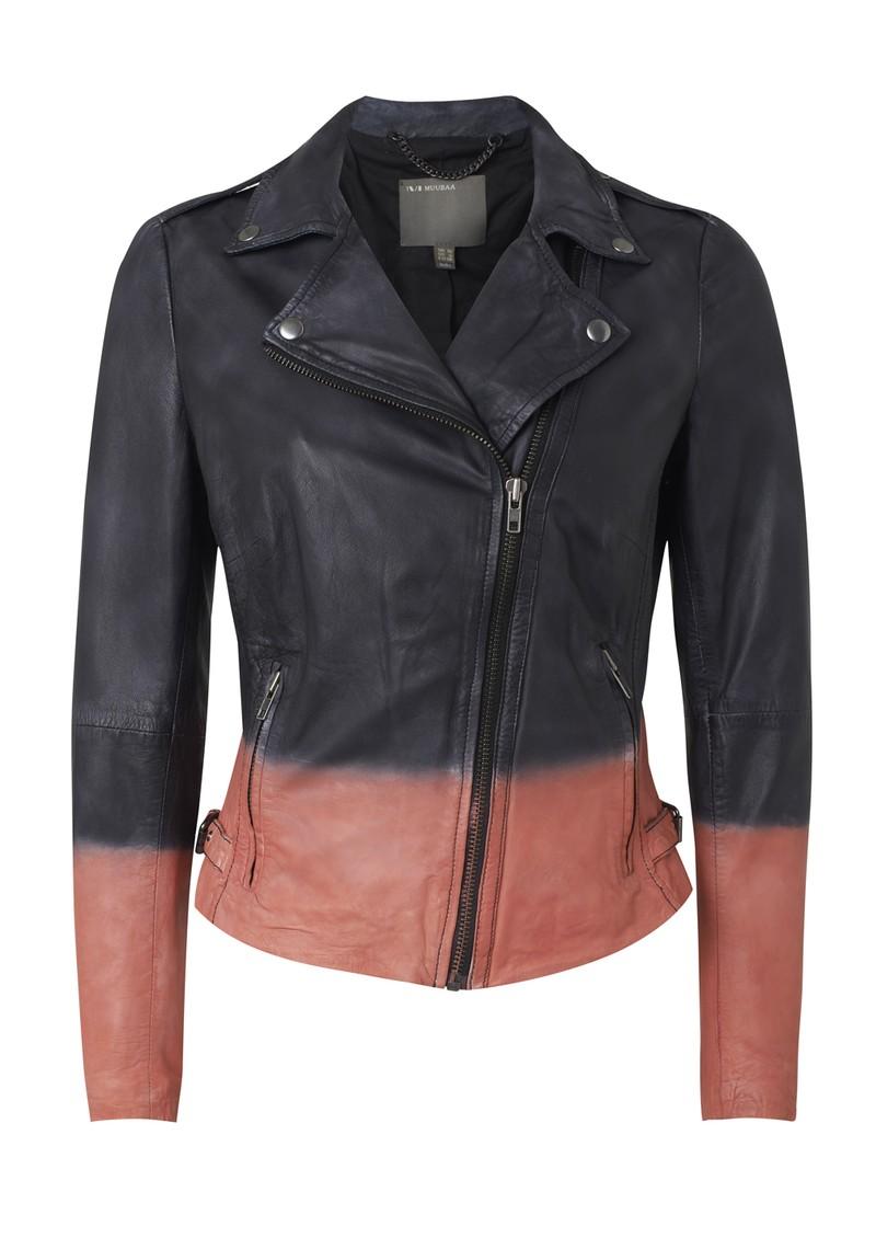 Dye a leather jacket